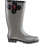 Austin Trading Co.™ Women's Houndstooth Rubber Boots