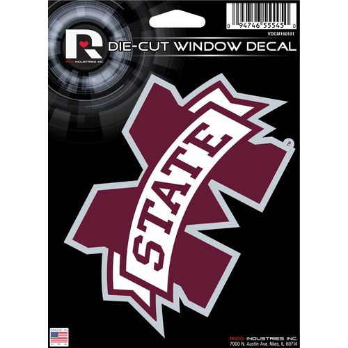 Tag Express Mississippi State University Die-Cut Decal