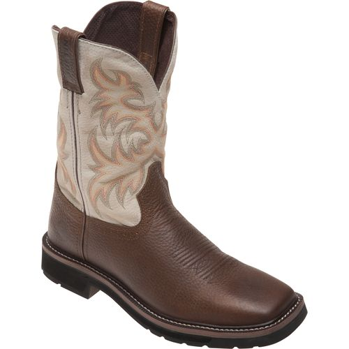 Justin Men's Copper Kettle Cowhide Western Work Boots - view number 2