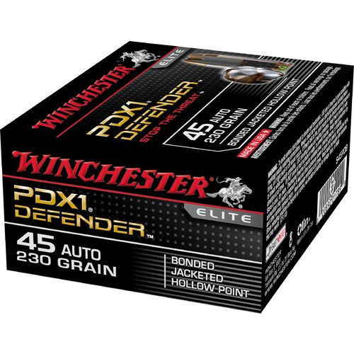 Winchester Supreme Elite Bonded PDSX1 .45 Auto 230-Grain Handgun Ammunition - view number 1