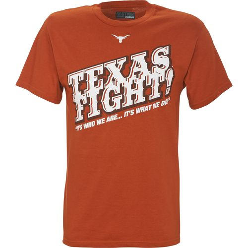 Majestic Men's University of Texas Fight T-shirt