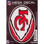 "Stockdale Kansas City Chiefs 5"" x 7"" Repositionable Decal"