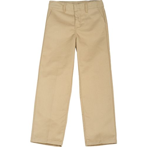 Dickies Boys' Classic Fit FlexWaist Flat Front Pant