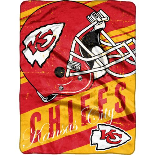 NFL Kansas City Chiefs Deep Slant Micro Raschel Throw