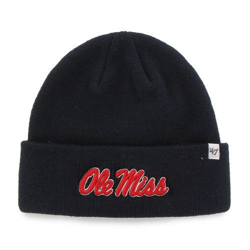 '47 Men's University of Mississippi Raised Cuff Knit Cap