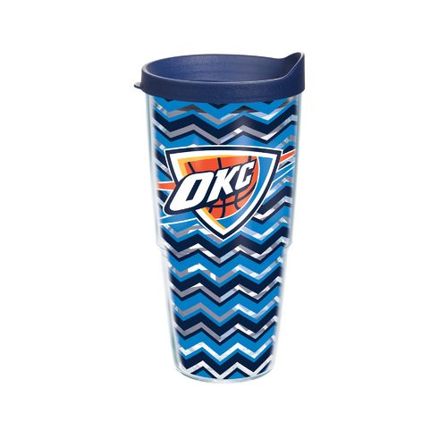 Tervis Oklahoma City Thunder Chevron 24 oz. Tumbler with Lid