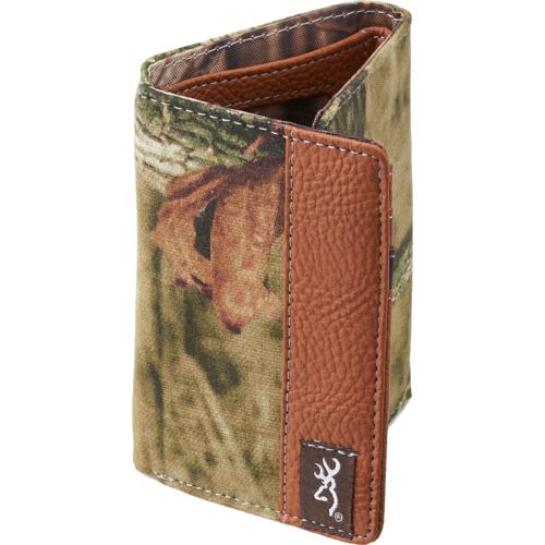 Browning Men's Camo Trifold Wallet