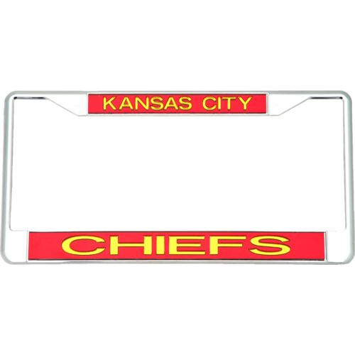 Stockdale Kansas City Chiefs License Plate