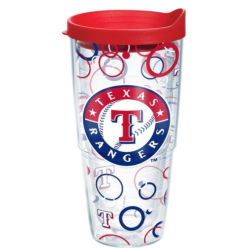 Tervis Texas Rangers Bubble Up 24 oz. Tumbler with Lid