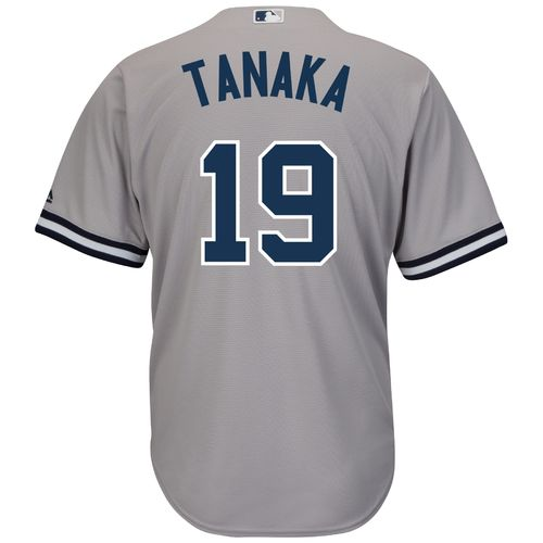Majestic Men's New York Yankees Masahiro Tanaka #19 Cool Base® Road Jersey