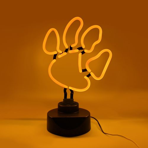 AES Optics Clemson University Tabletop Neon Light