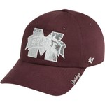'47 Women's Mississippi State University Sparkle Team Color Cleanup Cap
