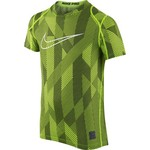 Nike Boys' Cool Allover Print Fitted Short Sleeve T-shirt