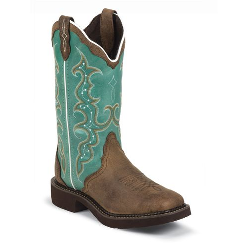 Display product reviews for Justin Women's Cowhide Gypsy Western Boots