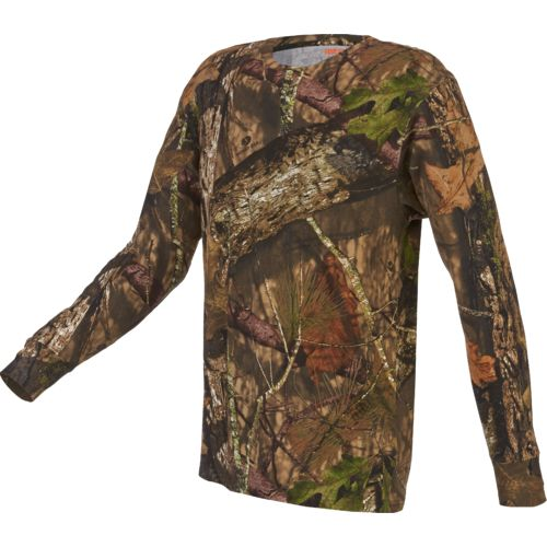 Game Winner Men's Hill Zone Camo Long Sleeve T-shirt