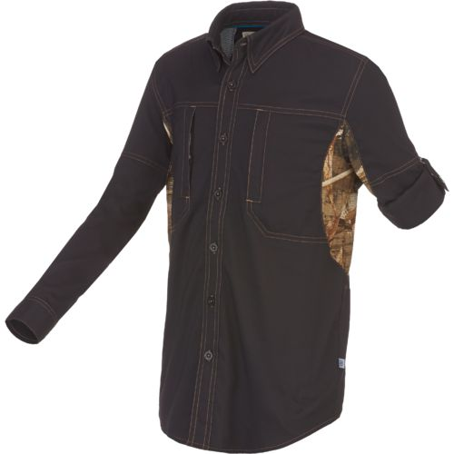 Magellan Outdoors™ Boys' Falcon Lake Long Sleeve Fishing Shirt
