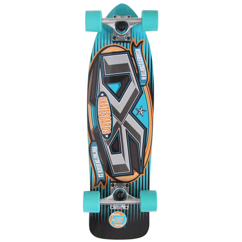 "D6 Sports 27"" Bullet Cruiser Skateboard"