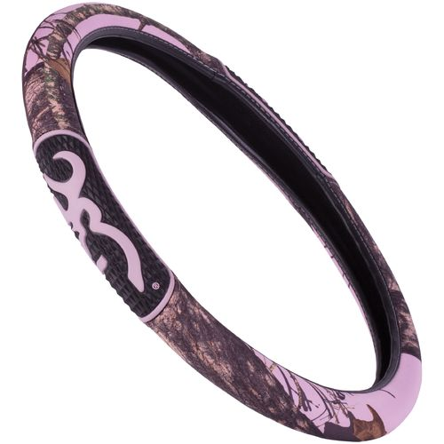 Browning 2-Grip Pink Steering Wheel Cover