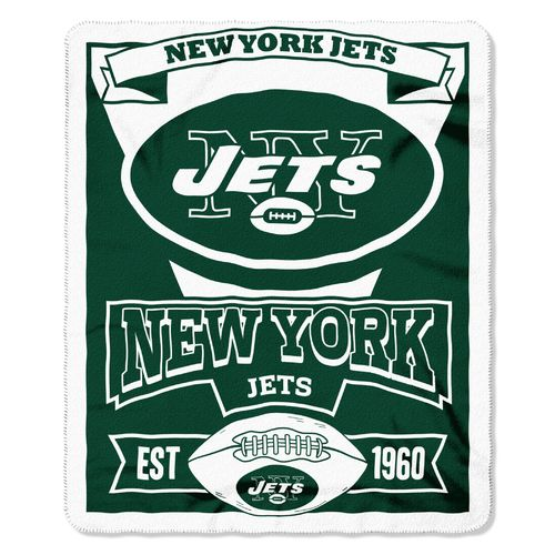 The Northwest Company New York Jets Marquee Fleece Throw