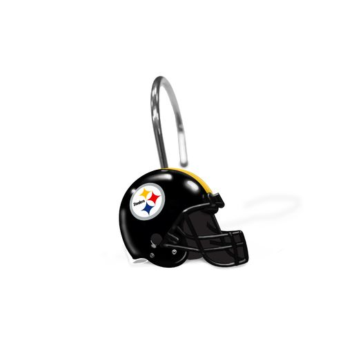The Northwest Company Pittsburgh Steelers Shower Curtain Rings - view number 1