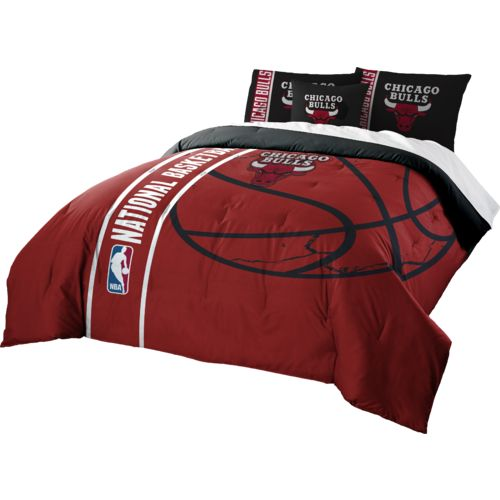 The Northwest Company Chicago Bulls Full Comforter and Sham Set