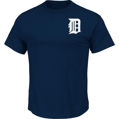 Majestic Men's Detroit Tigers Official Wordmark T-shirt - view number 1