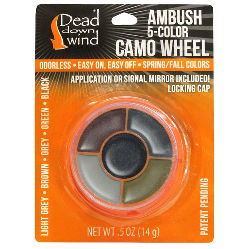 Dead Down Wind e3 ESP Field Application 5-Color Camo Wheel