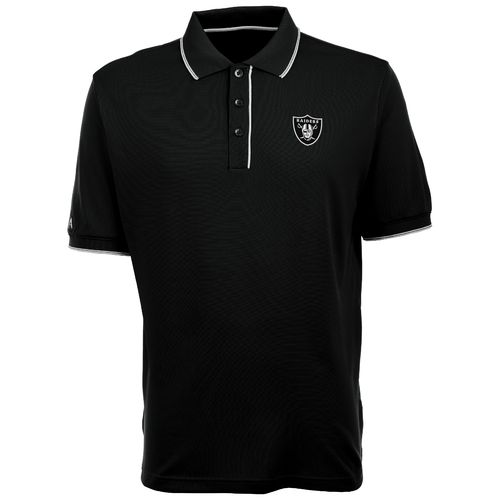 Antigua Men's Oakland Raiders Elite Polo Shirt
