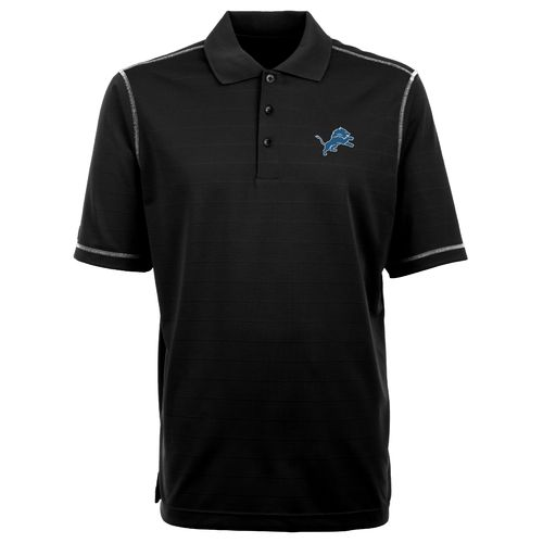 Antigua Men's Detroit Lions Icon Polo Shirt - view number 1