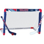 Franklin New York Rangers Mini Hockey Goal Set