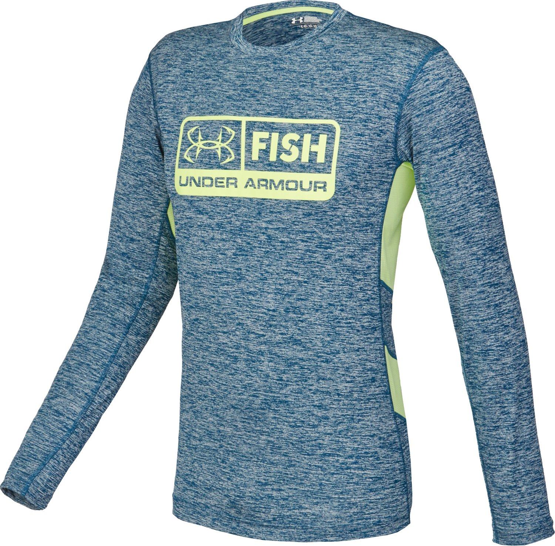 Under armour men 39 s fish hunter tech long sleeve shirt for Under armour fish hunter shirt