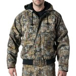 Walls Men's Oilfield Camo Insulated Hooded Jacket