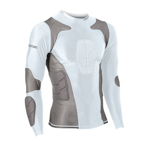 Century Adults' Padded Long Sleeve Compression Shirt - view number 1