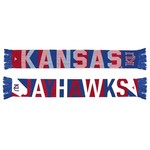 adidas Men's University of Kansas Jacquard Scarf