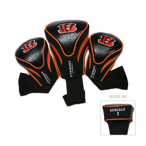 Team Golf Cincinnati Bengals Contour Sock Head Covers 3-Pack