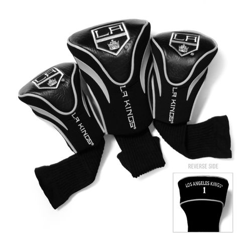 Team Golf Los Angeles Kings Contour Sock Head Covers 3-Pack - view number 1