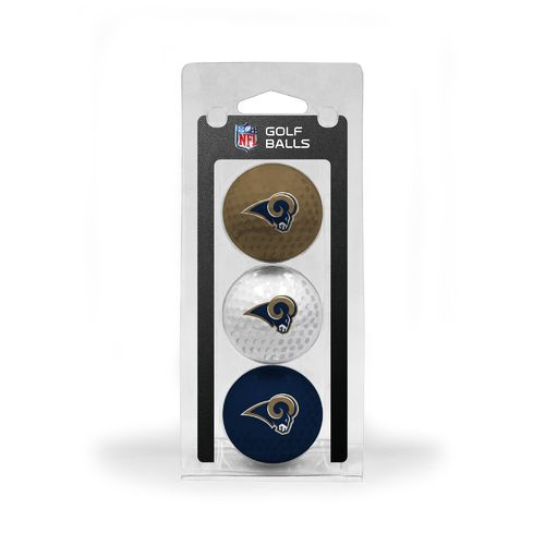 Team Golf St. Louis Rams Golf Balls 3-Pack