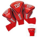 Team Golf Washington Nationals Contour Sock Head Covers 3-Pack
