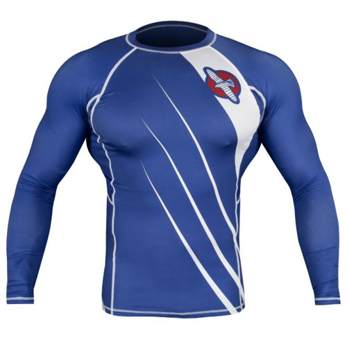 Hayabusa Fightwear Men's Recast Long Sleeve Rash Guard