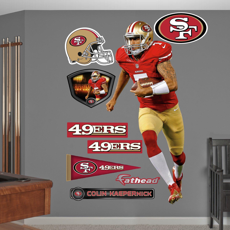 Fathead San Francisco 49ers Colin Kaepernick Real Big