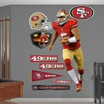 Fathead San Francisco 49ers Colin Kaepernick Real Big Wall Decal