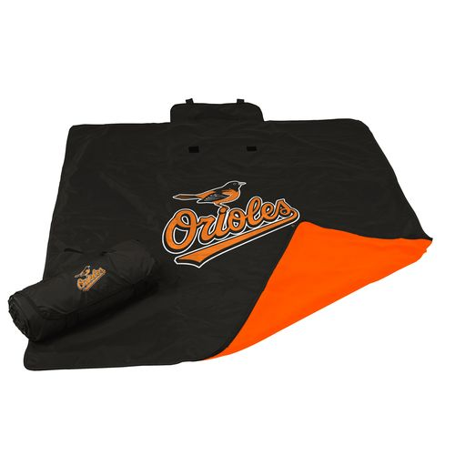 Logo Baltimore Orioles All-Weather Blanket