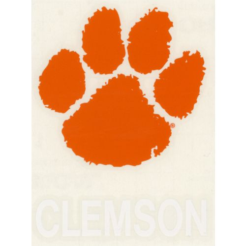 "Stockdale Clemson University 4"" x 7"" Decals 2-Pack"