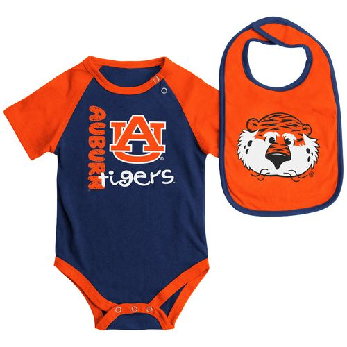 Colosseum Athletics Infants' Auburn University Rookie Onesie and Bib Set