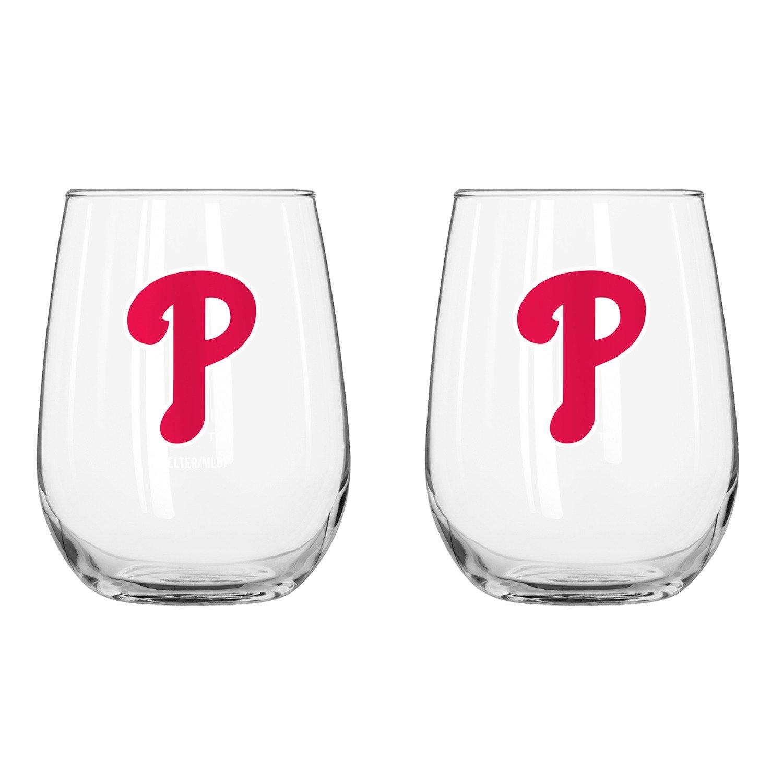 Boelter Brands Philadelphia Phillies 16 oz. Curved Beverage