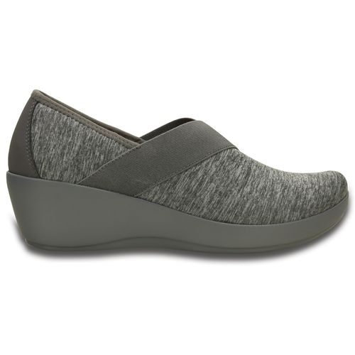 Crocs Women's Busy Day Heathered Asym Wedges