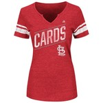 Majestic Women's St. Louis Cardinals Success Is Earned T-shirt