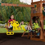 Backyard Discovery™ Thunder Ridge Wooden Swing Set - view number 6