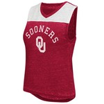 Colosseum Athletics Women's University of Oklahoma Kiss Cam Tank Top