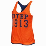 Colosseum Athletics Women's University of Texas at El Paso Triple Crown Reversible Tank Top